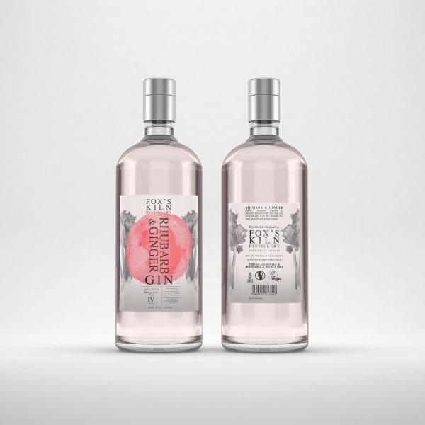 Rhubarb Gin - Fox Kilns