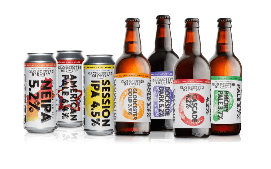 Order beer and gin on Deliveroo from Gloucester Brewery's Tank bar
