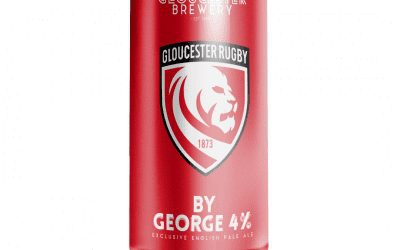 By George! Gloucester Brewery releases new limited edition Gloucester Rugby Beer