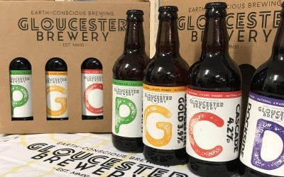 New Gloucester Brewery bottled beer gift pack