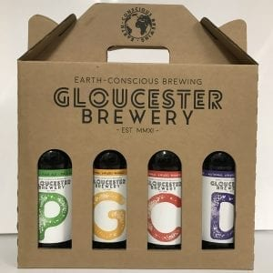Mixed pack of Gloucester Brewery Bottled Beers